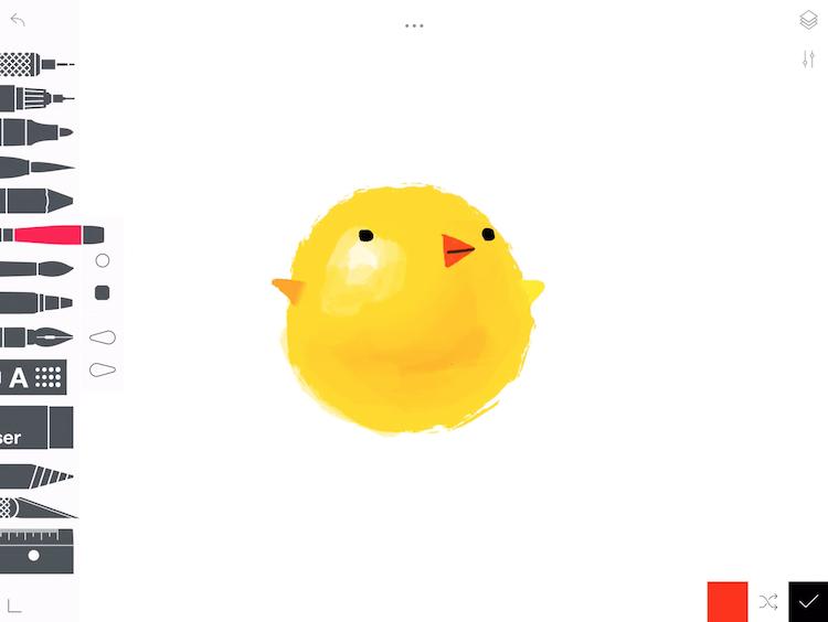 Tayasui- sketch app