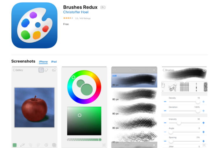Brushes Redux - Free Open Source Painting App