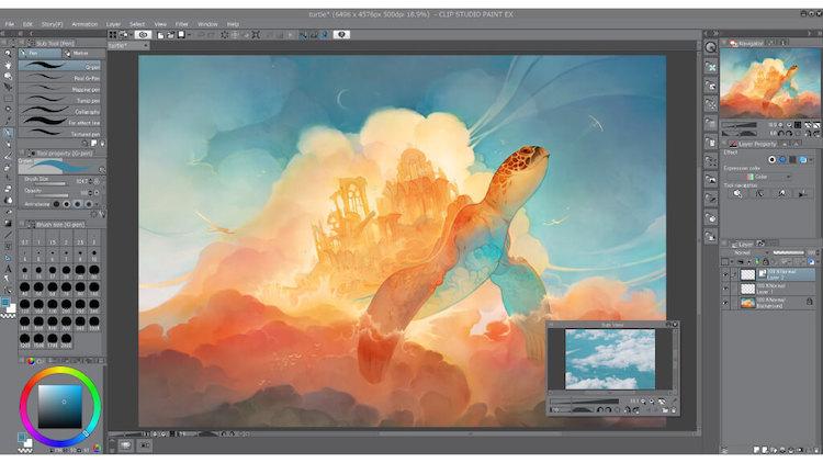 Clip Studio - online drawing app