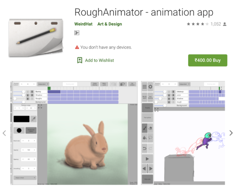 RoughAnimator - Animation Drawing app