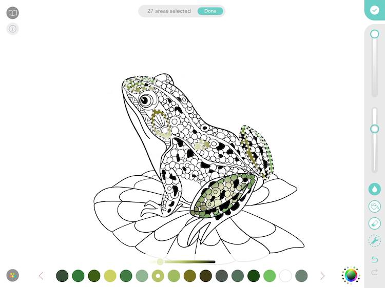 Pigment - adult coloring app