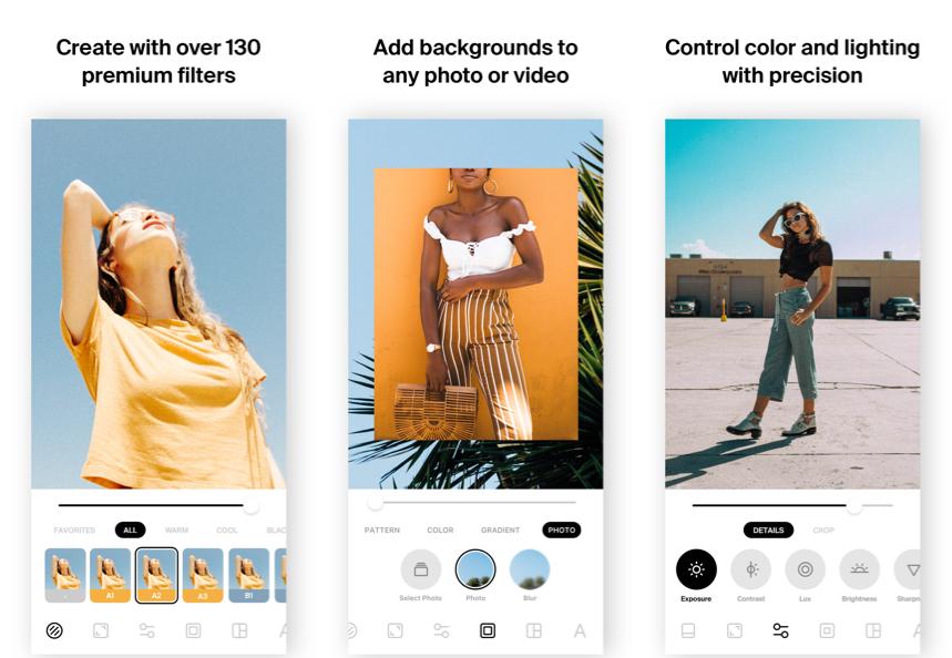 InstaSize - Photo Editing App