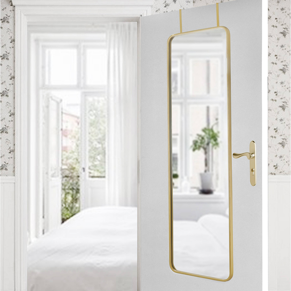 Magnificent Yes They Actually Exist 9 Attractive Over The Door Mirrors Apartment Therapy Door Handles Collection Olytizonderlifede