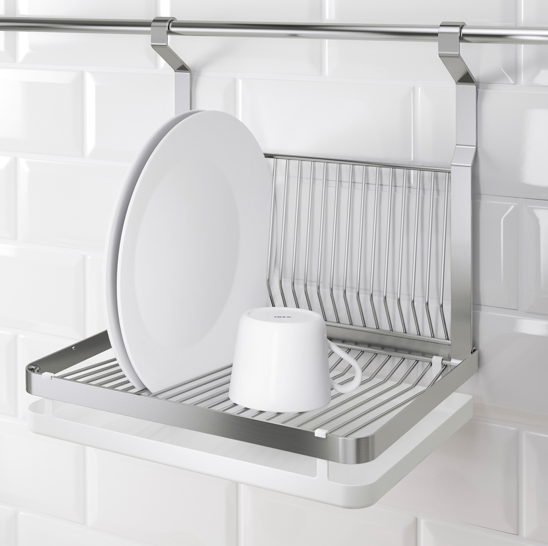 Top 10 Well-Designed Dish Racks For Small Kitchens