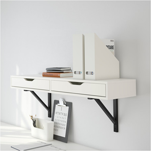 best wall mounted desks tables 2016 annual guide apartment therapy rh apartmenttherapy com ikea wall desk white ikea wall desk ideas