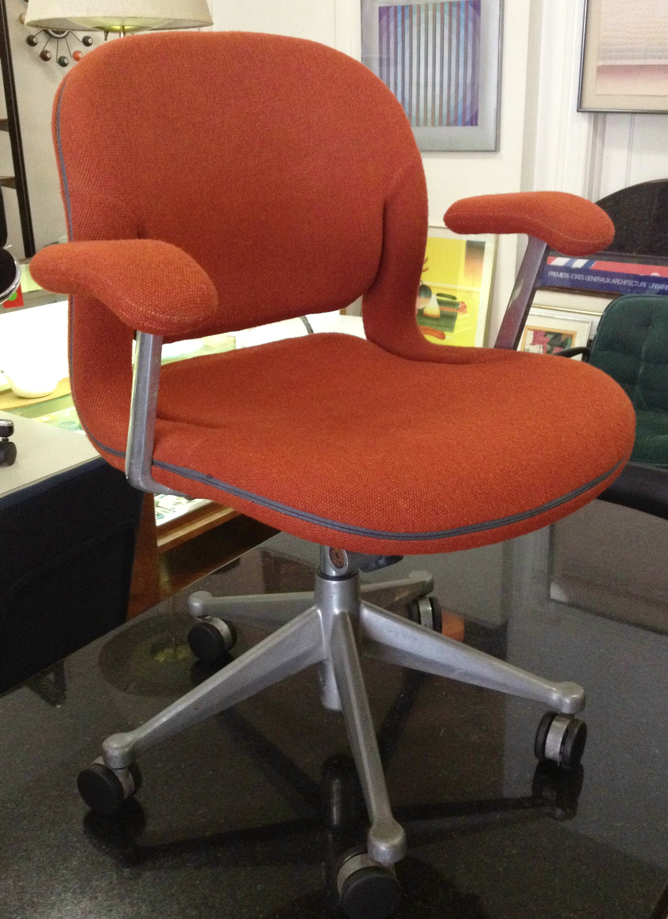 Image of: Vintage Herman Miller Equa Chair Office Furniture Apartment Therapy S Bazaar