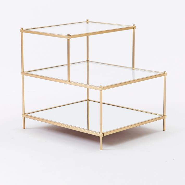 outlet store 1a05f 488f7 West Elm Terrace Glass Side Table