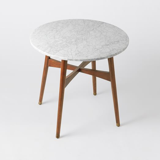 West Elm Reeve MidCentury Dining Table Apartment Therapy - West elm marble dining table
