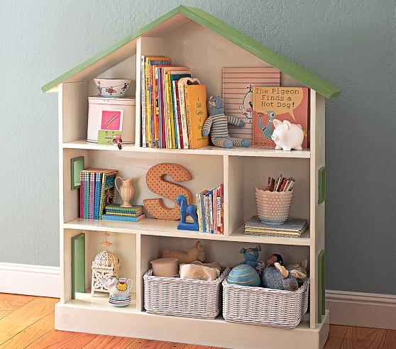 Pottery Barn Dollhouse Bookcase
