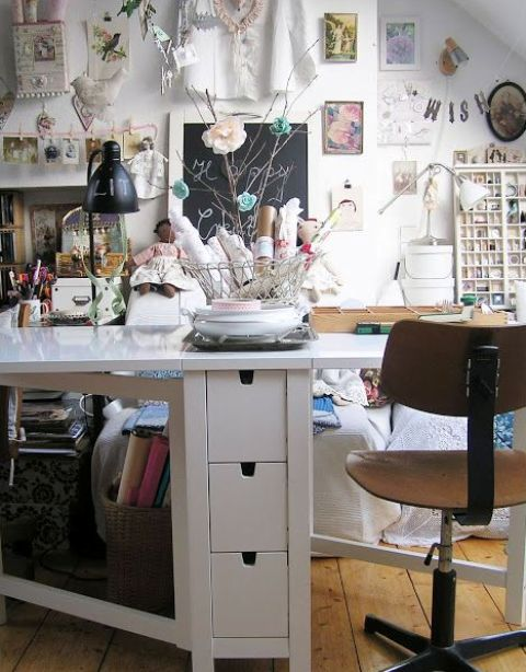 Ordinaire White Ikea Norden Gateleg Table   Seats 2 6!   Apartment Therapy  Marketplace Classifieds
