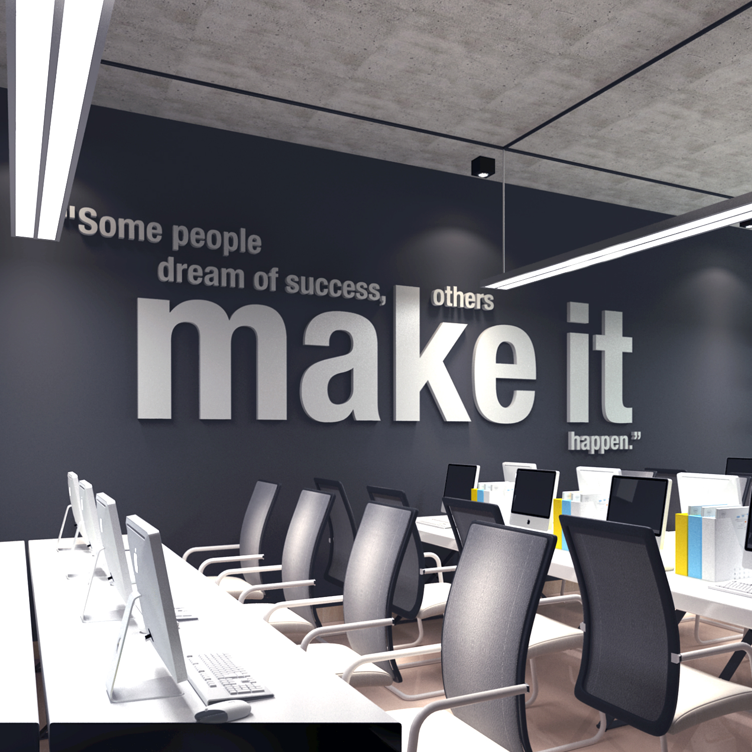 Make It Happen, Office Decor, 3D Wall Art, Decor   Apartment Therapy  Marketplace Classifieds