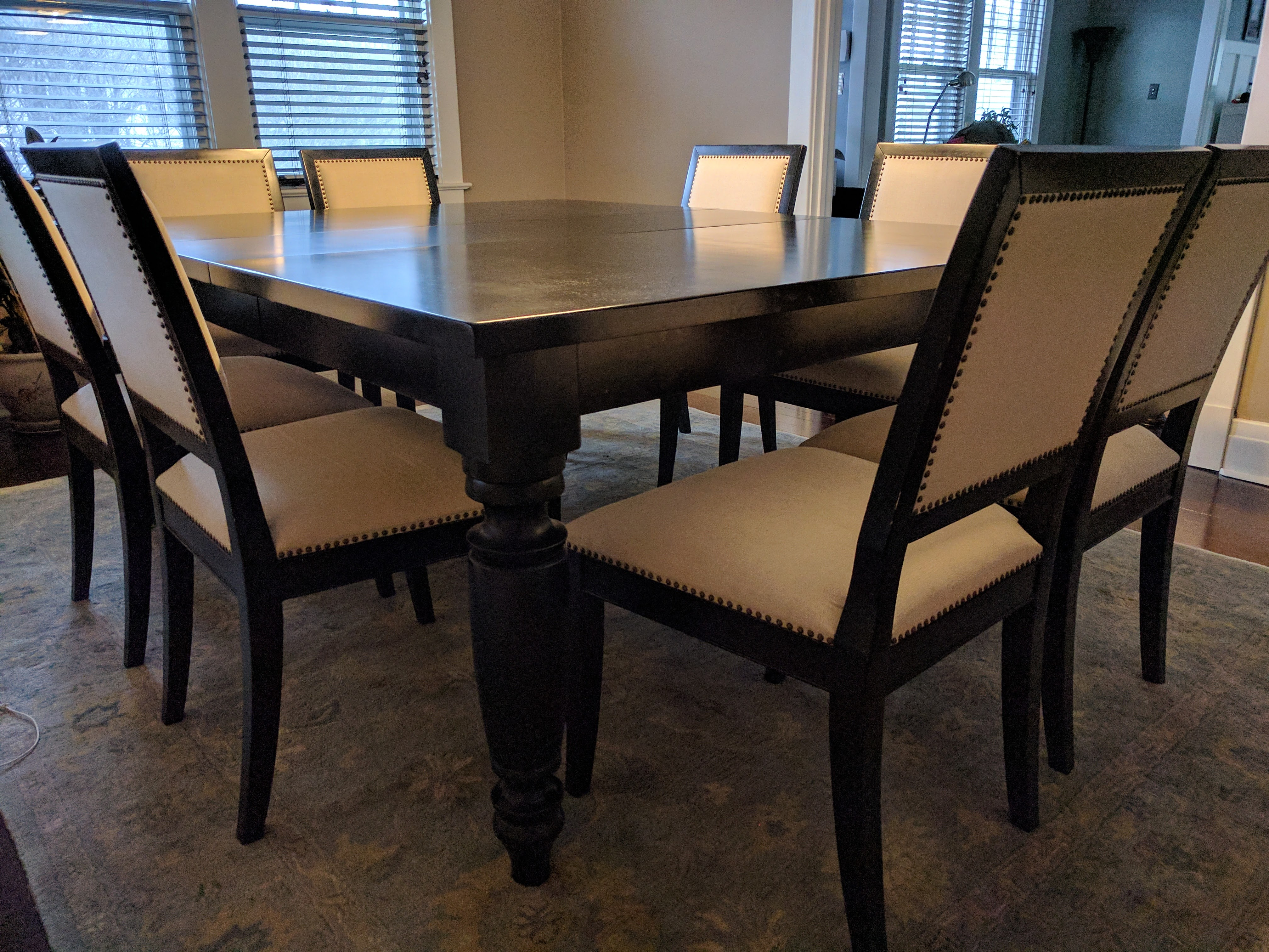 Pottery Barn Amherst Dining Table And Chairs Apartment