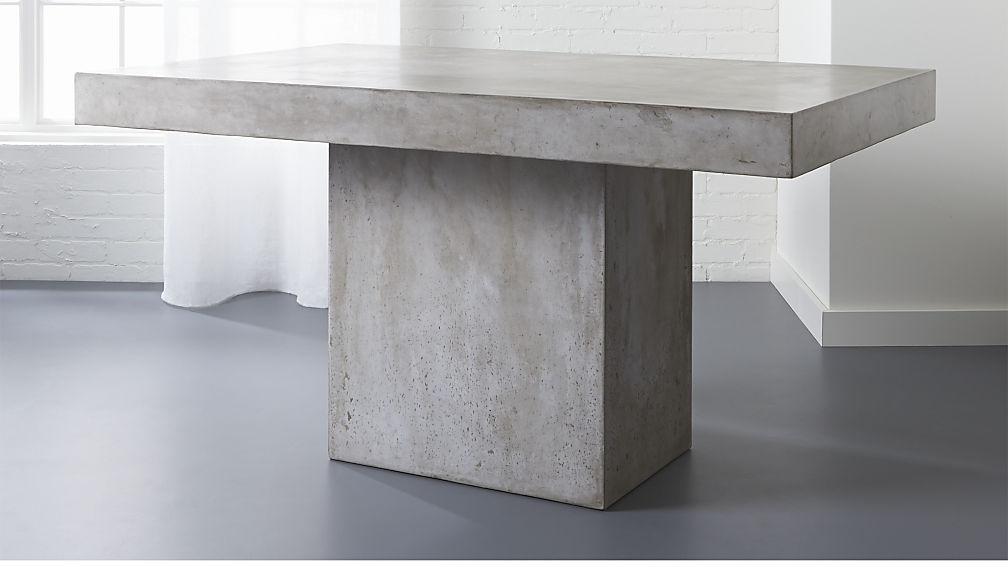 Pleasing Cb2 Fuze Grey Dining Table Inzonedesignstudio Interior Chair Design Inzonedesignstudiocom