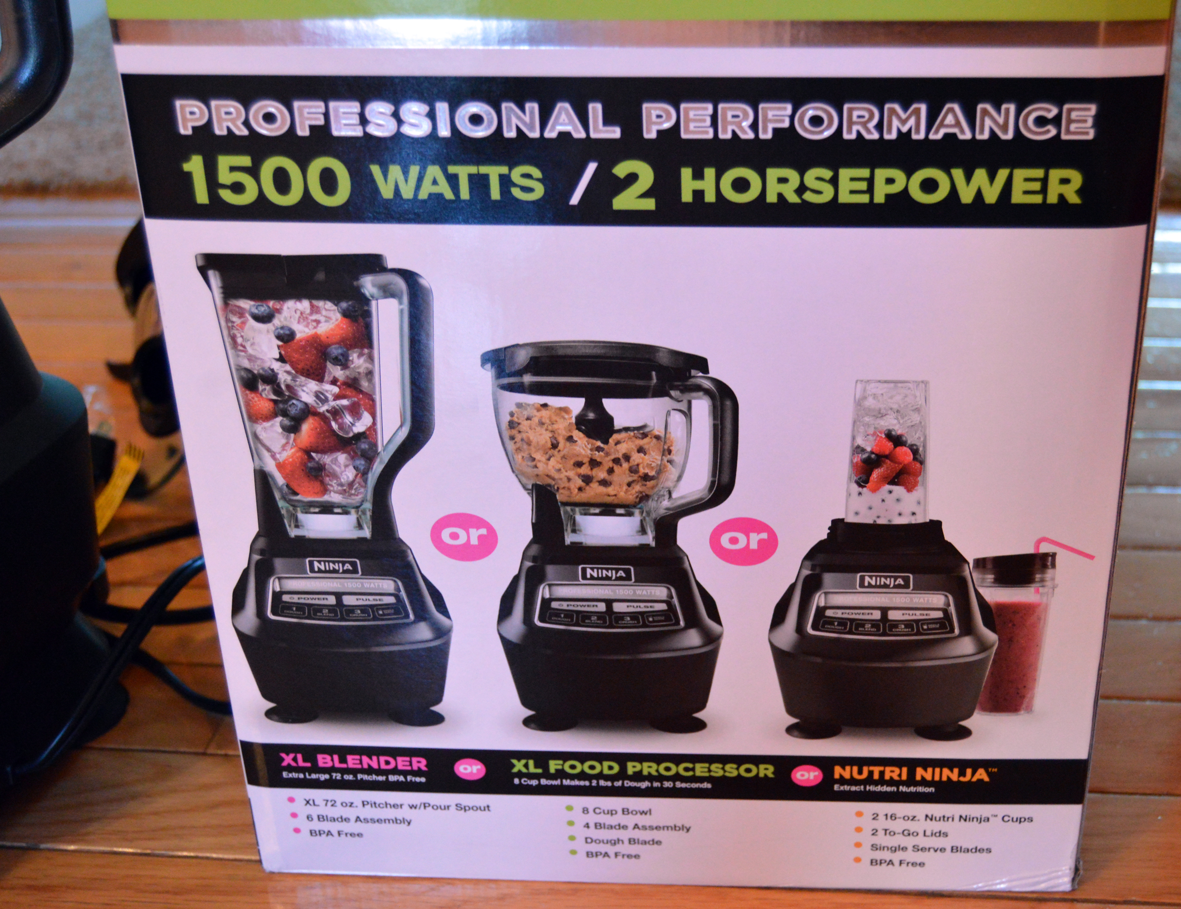 Ninja Mega Kitchen System 1500 Watt 8 Cup Blender Wow Blog