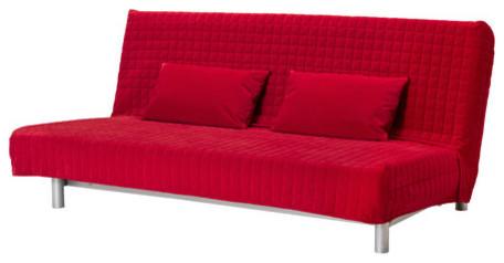 Ikea Beddinge red futon