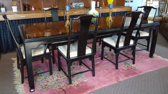 Asian Dining Room Furniture: Century Furniture Asian Dining Room Set