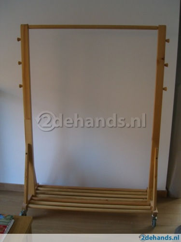 Ikea Wood Garment Clothes Rack   Ex Cond. 2 Avail.   Apartment