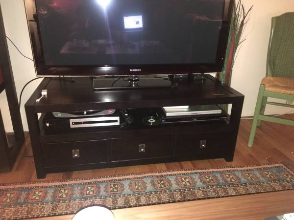 Pottery Barn Rhys Coffee Table Tv Media Stand Apartment