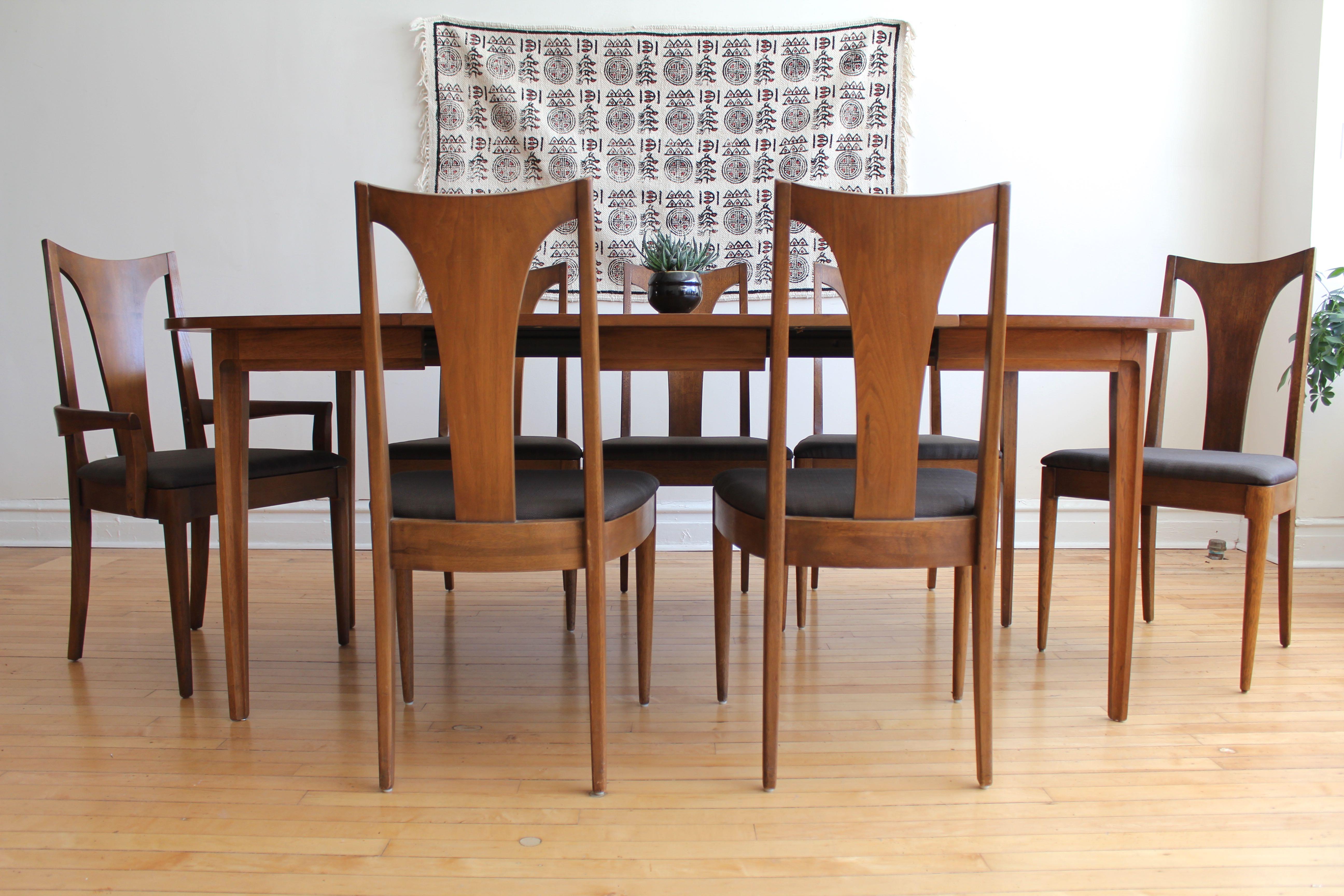Mid Century Modern Broyhill Sculptra Dining Set Apartment Therapy S Bazaar
