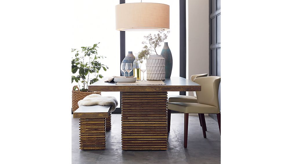 Bon Crate And Barrel Paloma I Square Dining Table   Apartment Therapy  Marketplace Classifieds