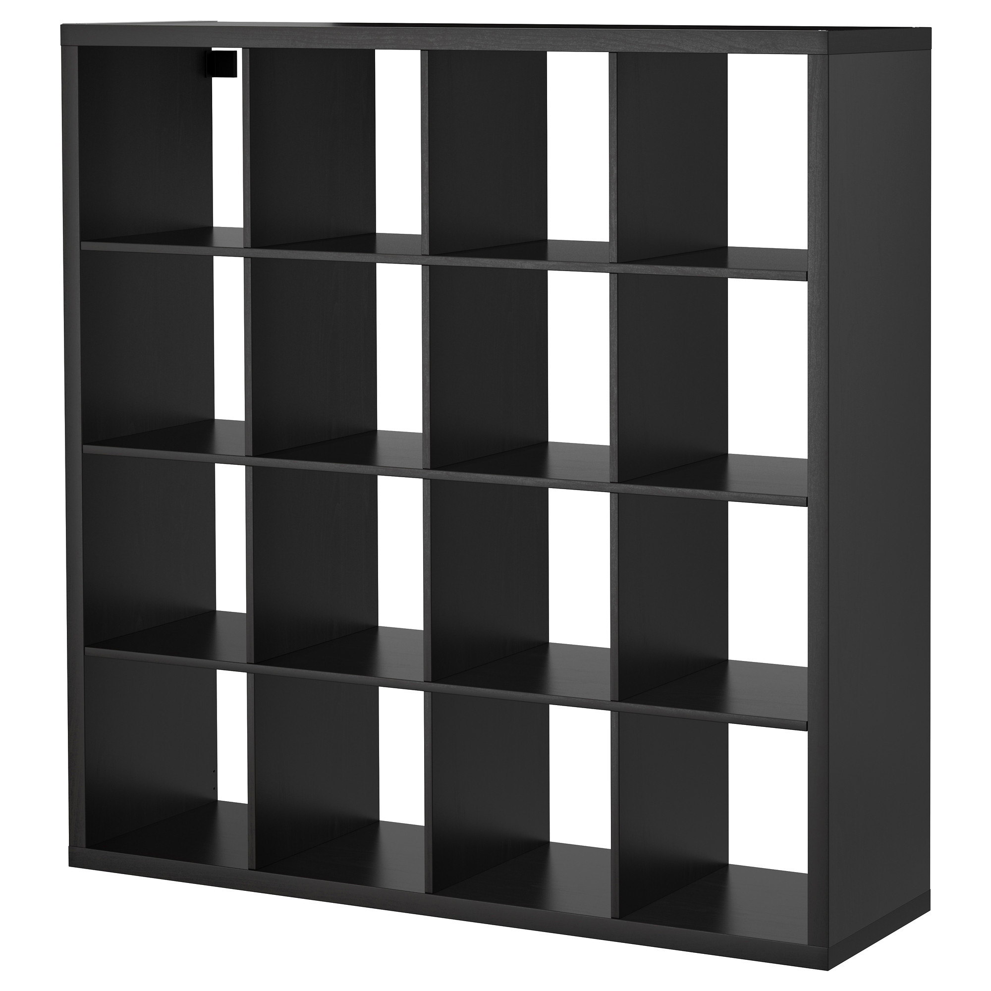 ikea expedit kallax unit, perfect vinyl storage - apartment therapy