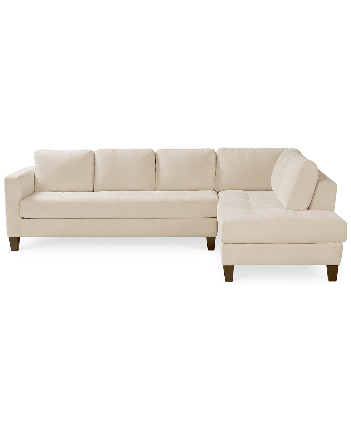 Miraculous Rylee Fabric 2 Piece Sectional Sofa Creativecarmelina Interior Chair Design Creativecarmelinacom