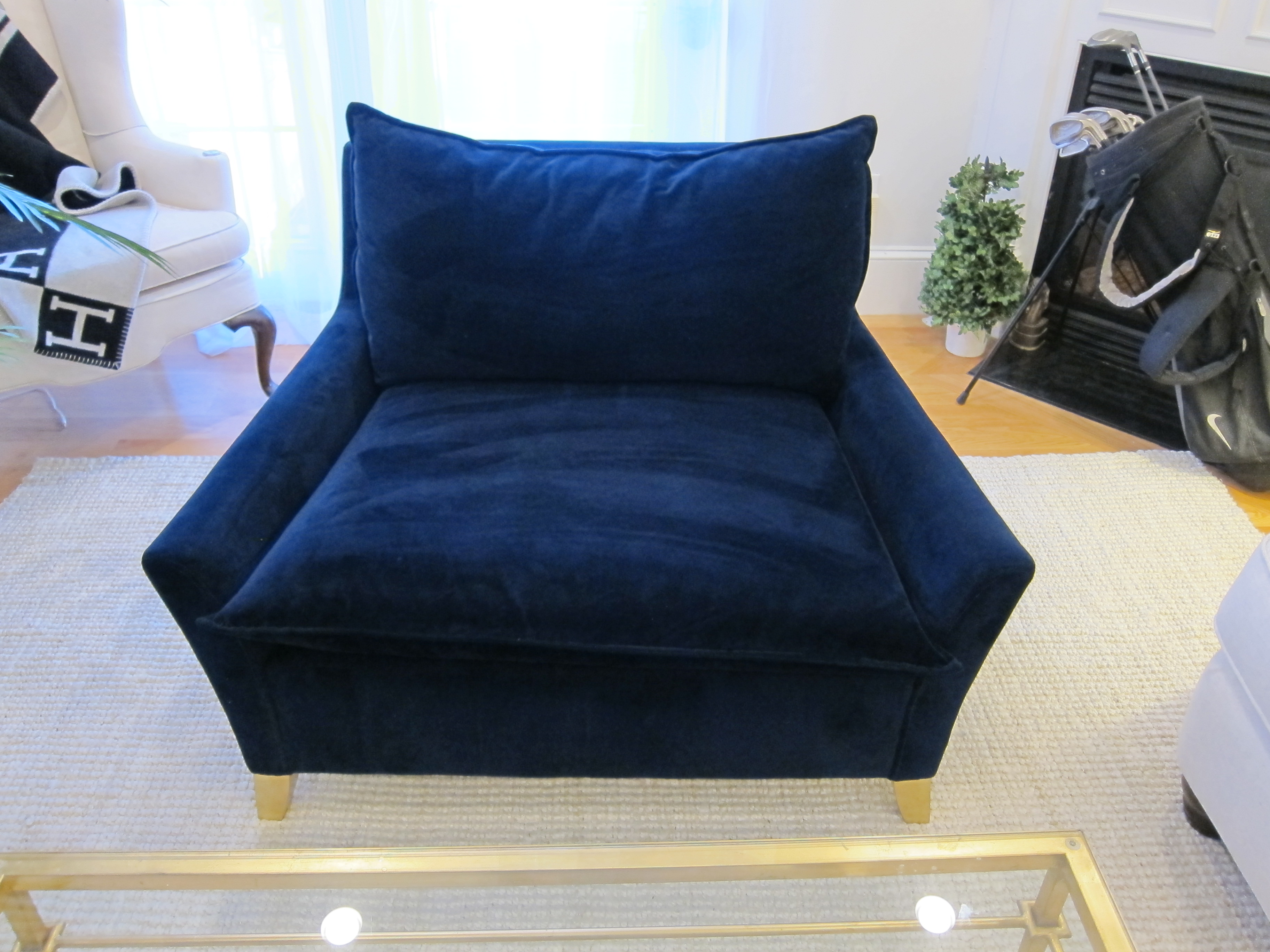 Picture of: West Elm Bliss Down Filled Chair And A Half Apartment Therapy S Bazaar