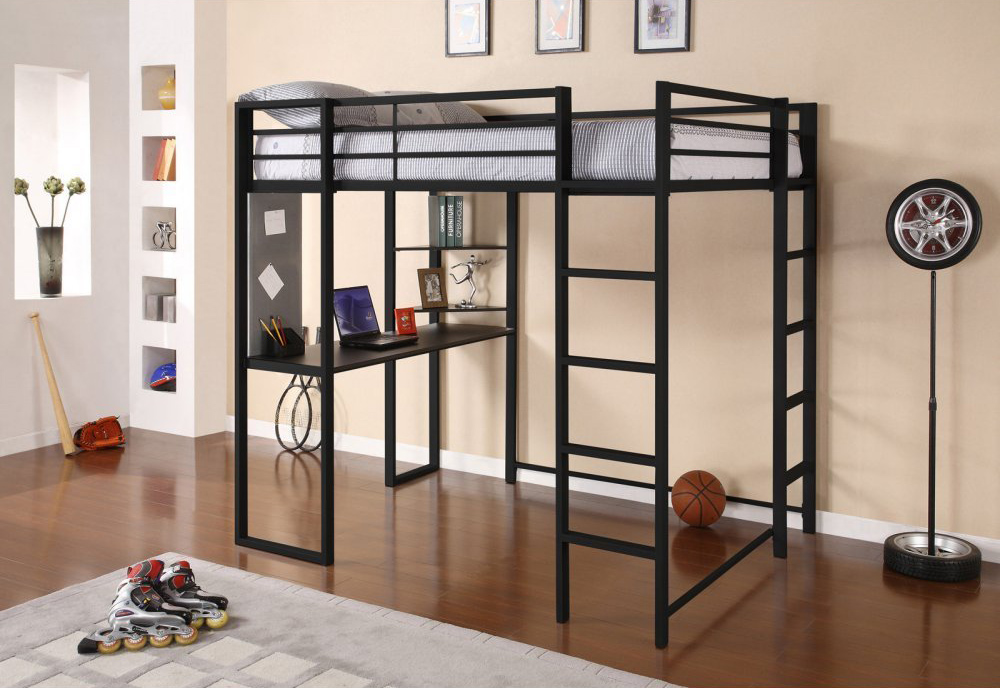 Adult Loft Bed With Desk Abode Full Size Loft Bed