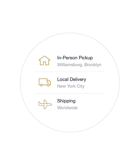Delivery options example