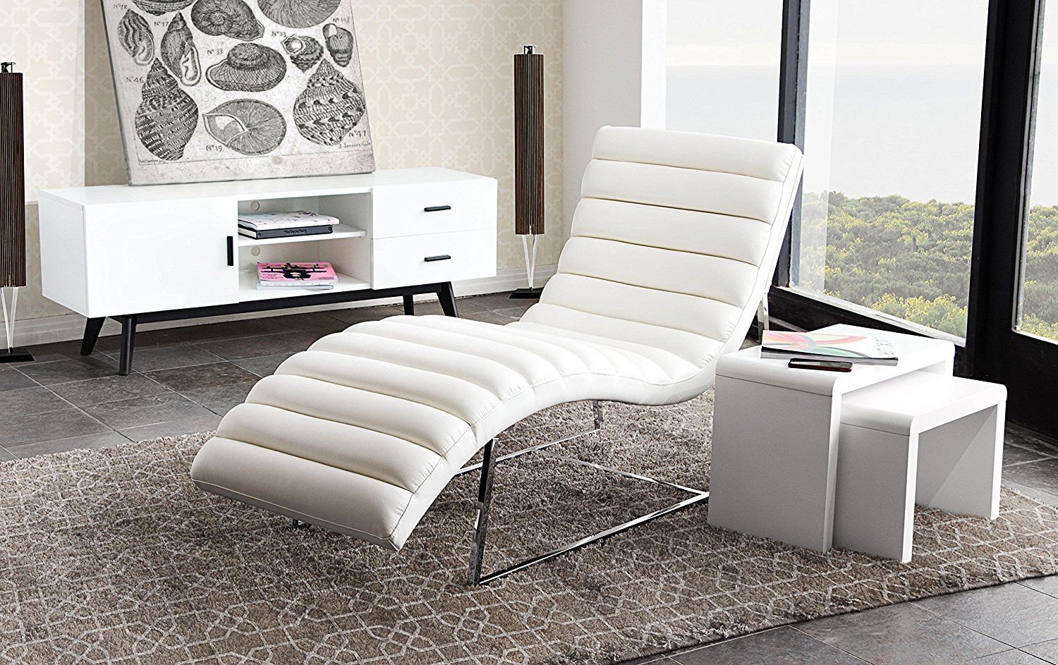 12 of the Best Looking Modern Chaise Lounges | Apartment Therapy White Chaise Lounge Chair on white wrought iron patio furniture chair, red lounge chair, black lounge chair, shays lounge chair, leather lounge chair, white chair chair, white bergere chair, reclining lounge chair, wicker lounge chair, white swan chair, white cushion chair, barcelona lounge chair, white vinyl strap lounge chair, white bar stool chair, corner lounge chair, white plastic lounge chairs, sofa lounge chair, leather chaise chair, antique lounge chair, french lounge chair,