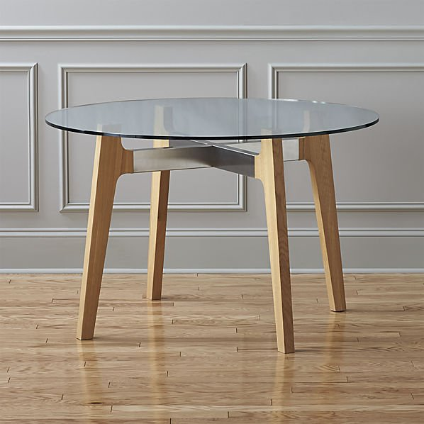 Ikea Round Dining Tables: Modern Round Dining Tables: West Elm, IKEA And More