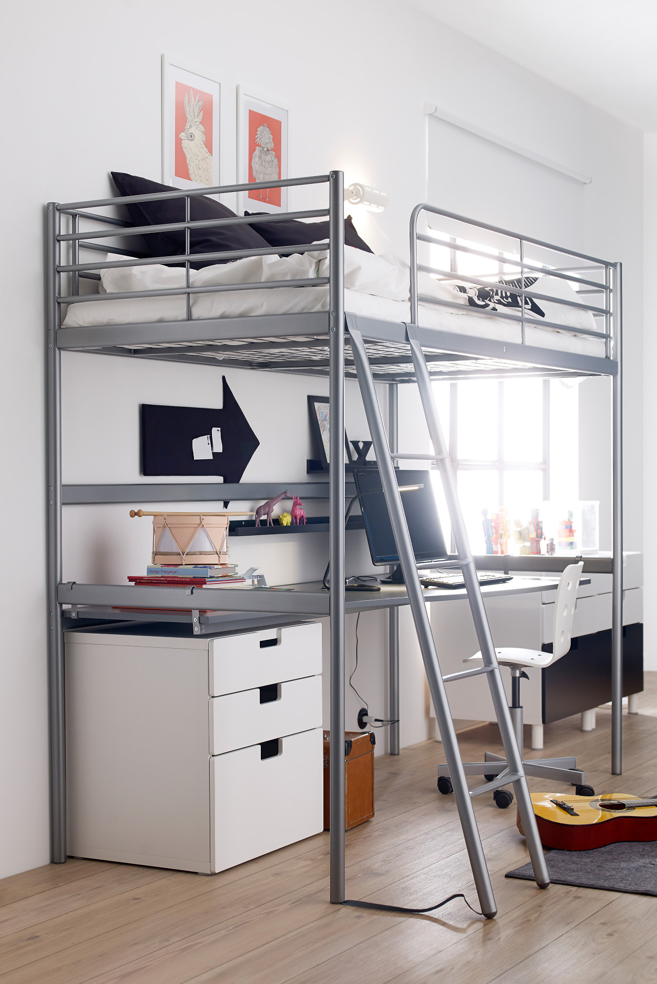 11 full size modern loft beds for adults apartment therapy - Small beds for adults ...
