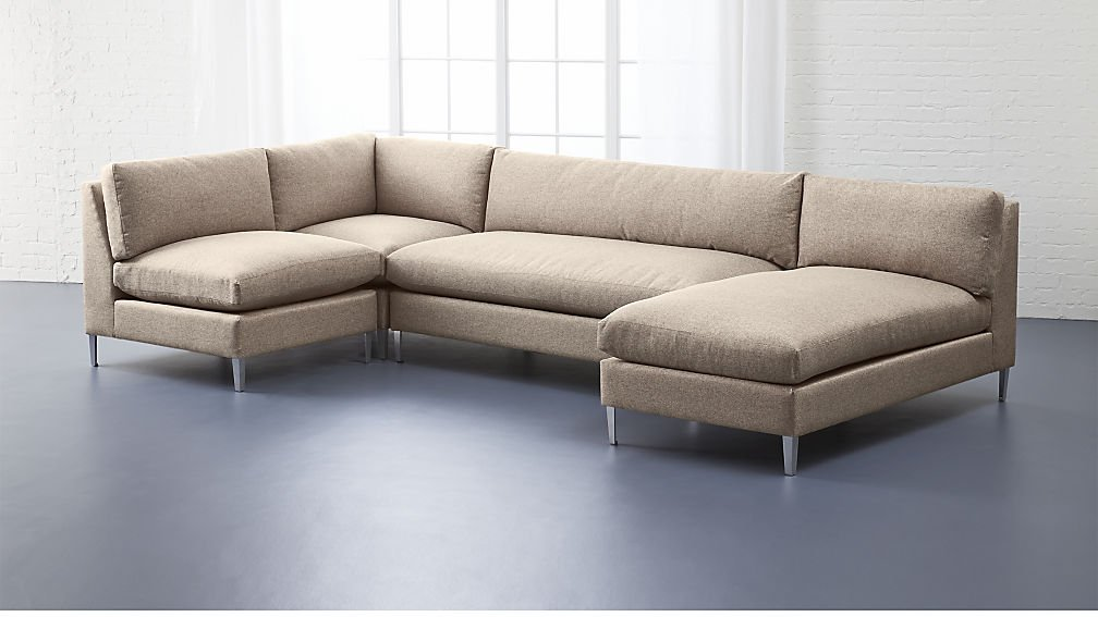 Stupendous Expandable Modular Best Sectional Sofas Apartment Therapy Theyellowbook Wood Chair Design Ideas Theyellowbookinfo