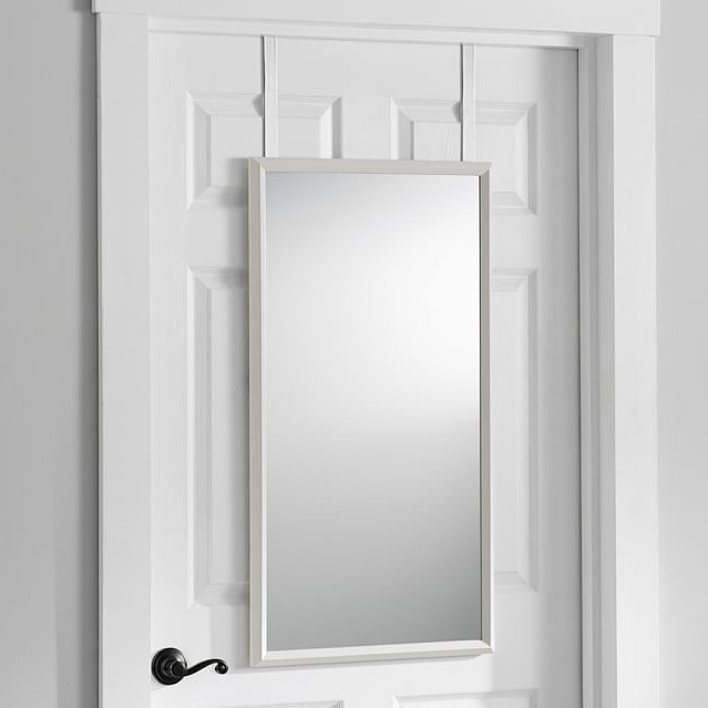 Surprising Yes They Actually Exist 9 Attractive Over The Door Mirrors Apartment Therapy Door Handles Collection Olytizonderlifede