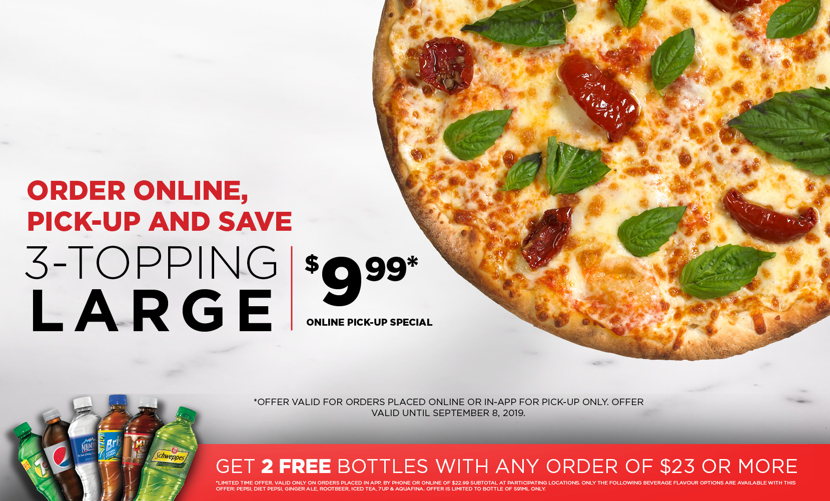 Pizzaville - #3636 from your cell or Order Online