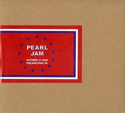 Image result for pearl jam 10-27-09