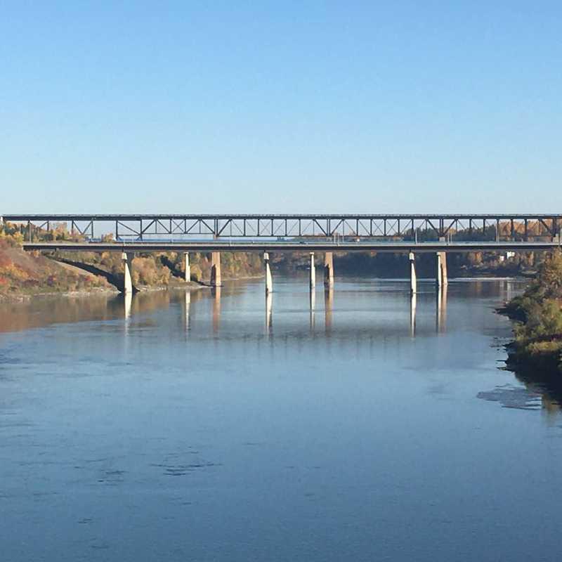 Clover Bar Foot Bridge