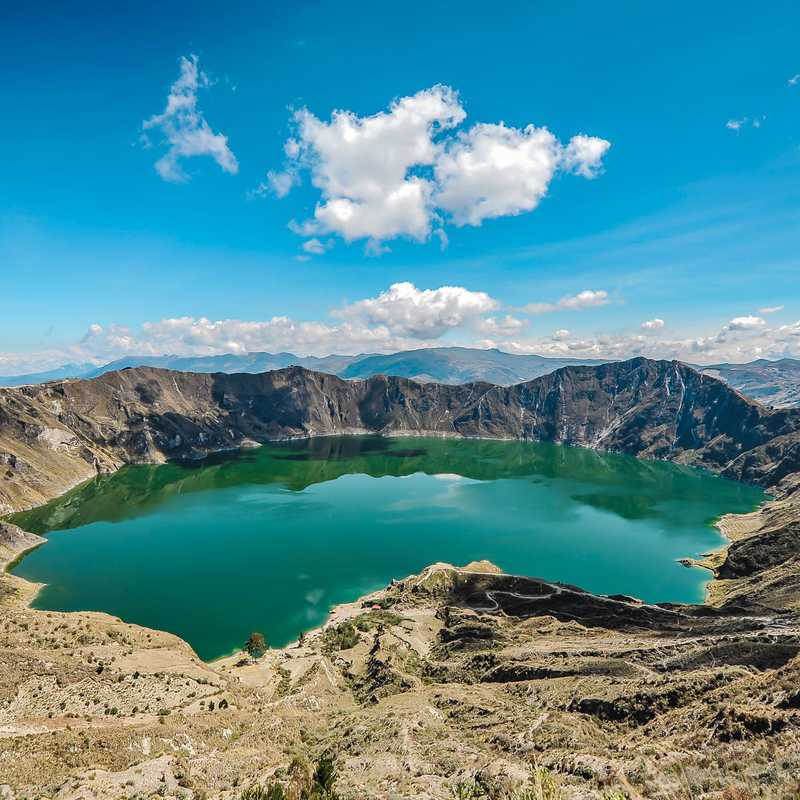 QUILOTOA 🌋🇪🇨 | 1 day trip itinerary, map & gallery