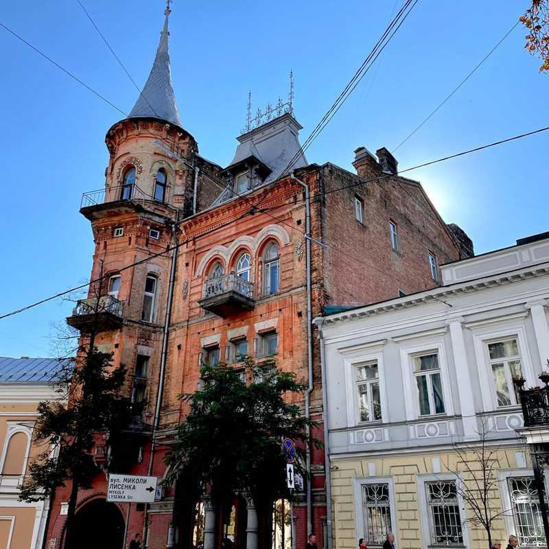 Baron Steingel House (Podhorskyy House)