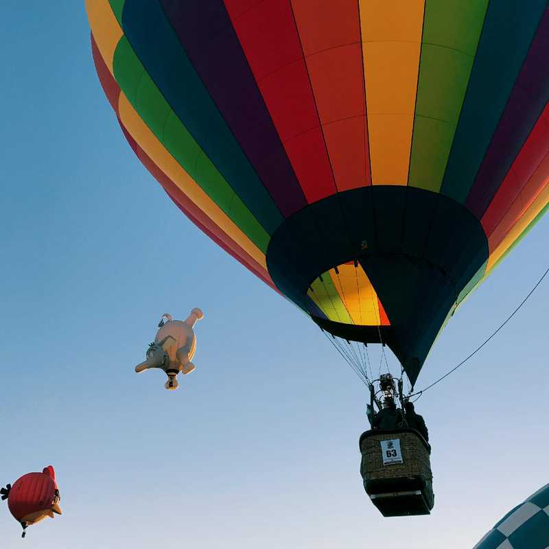 Saratoga Springs & Balloon Festival | 3 days trip itinerary, map & gallery