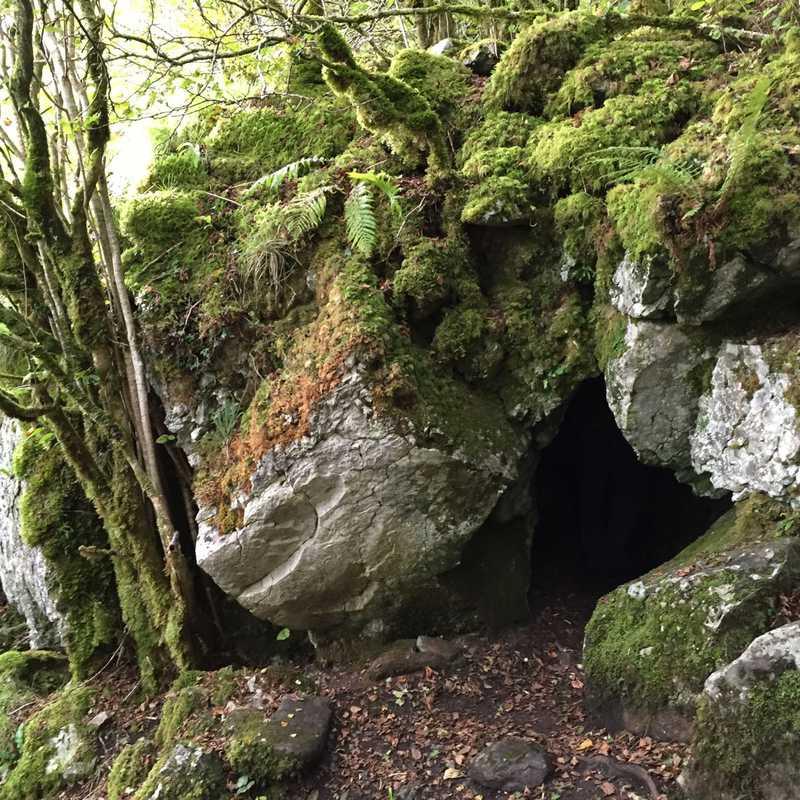 St Colman's Chapel, & Cave.