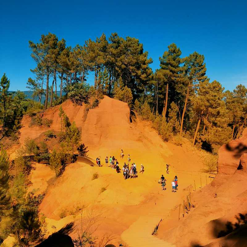 Visit Roussillon Ochre Trail