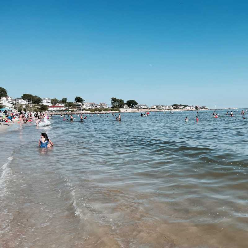 East Beach At Rocky Neck