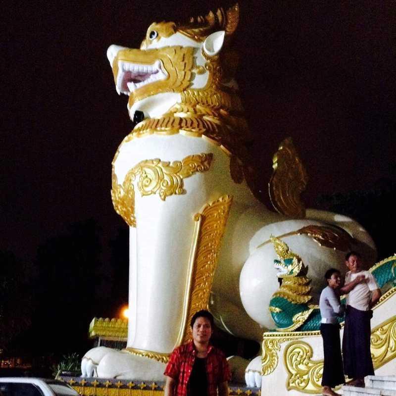 Shwedagon Pagoda Western Steps