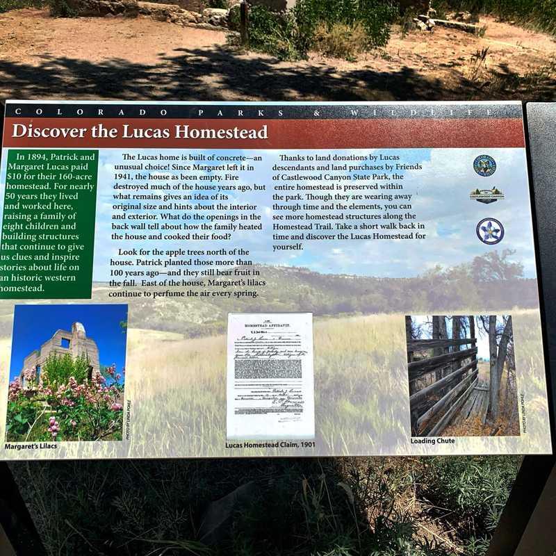Homestead Trailhead