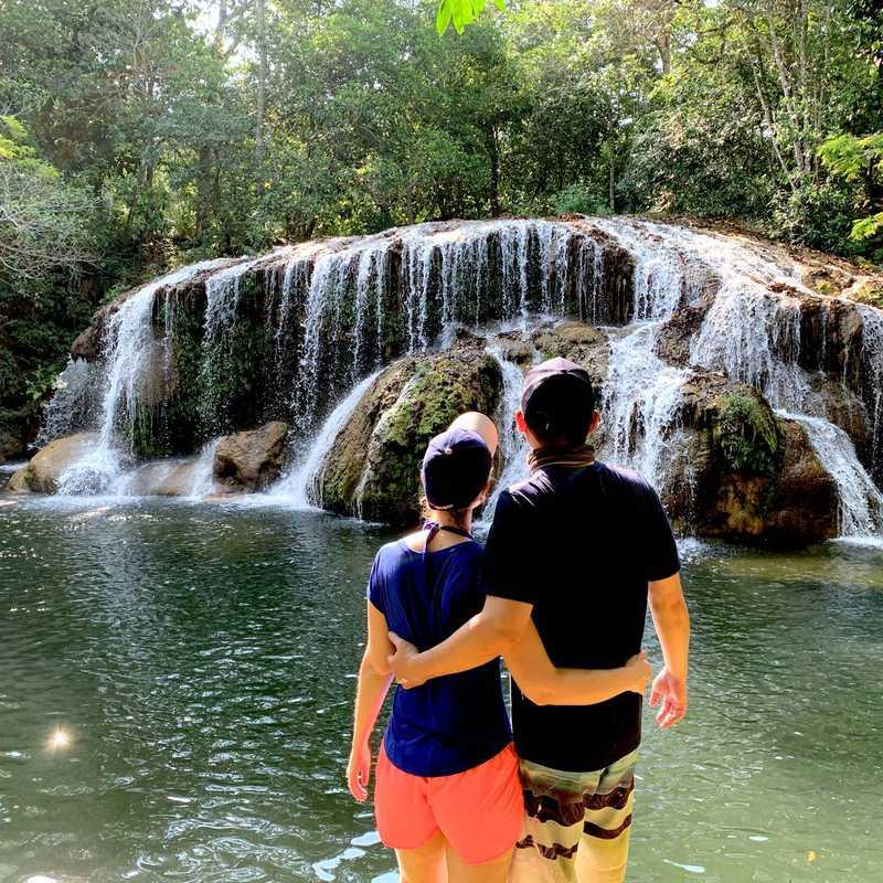 Cachoeira do Sinhozinho - Estância Mimosa - Bonito, MS