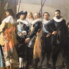 Meagre Company by Frans Hals. 1637