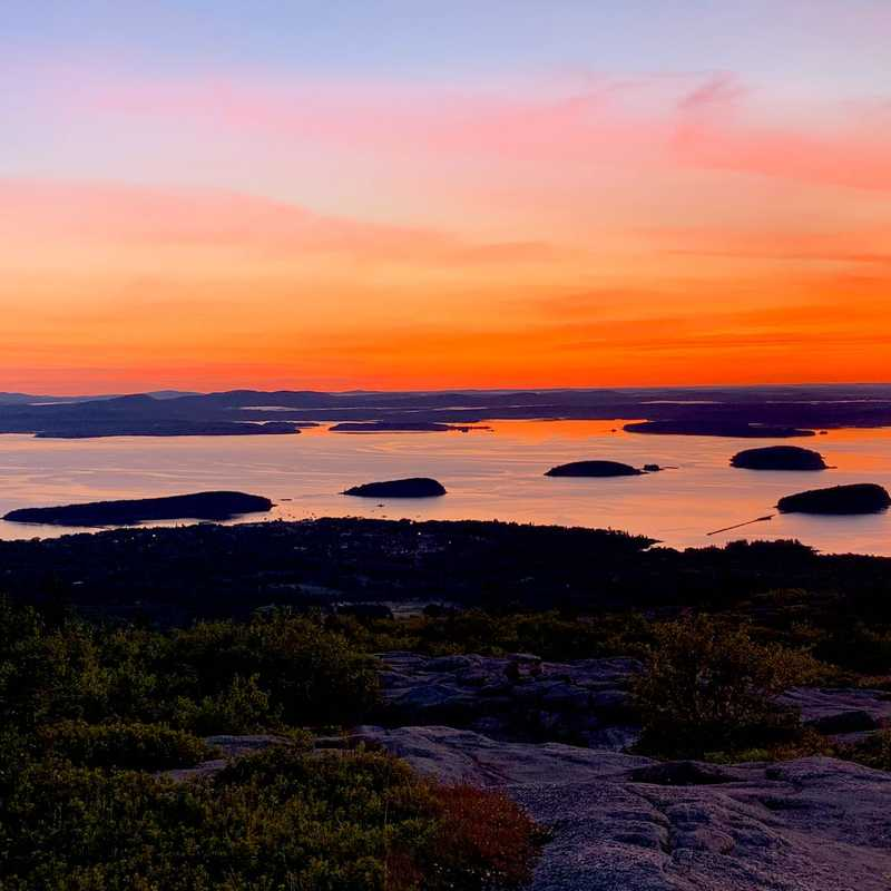 Trip Blog Post by @mamamia: Maine - Cadillac Sunrise & Beehive Trail | 5 days in Jun (itinerary, map & gallery)