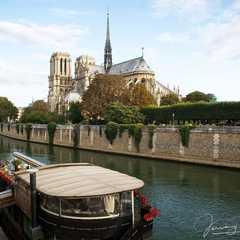 A view of Notre-Dame de Paris from the Seine