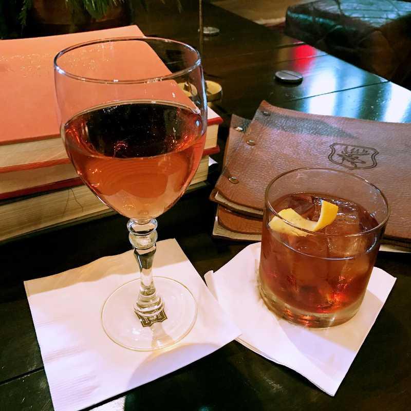 Drinks at Hotel Emma